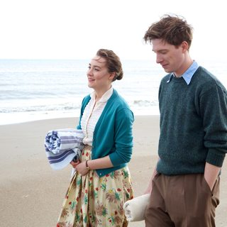 Saoirse Ronan stars as Ellis Lacey and Domhnall Gleeson stars as Jim Farrell in Fox Searchlight Pictures' Brooklyn (2015) - brooklyn05