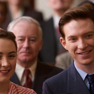Saoirse Ronan stars as Ellis Lacey and Domhnall Gleeson stars as Jim Farrell in Fox Searchlight Pictures' Brooklyn (2015) - brooklyn09