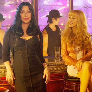 Cher stars as Tess and Christina Aguilera stars as Ali Rose in Screen Gems' Burlesque (2010)