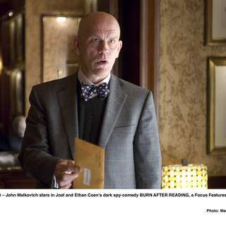 John Malkovich stars in Joel and Ethan Coen's dark spy-comedy BURN AFTER READING, a Focus Features release.