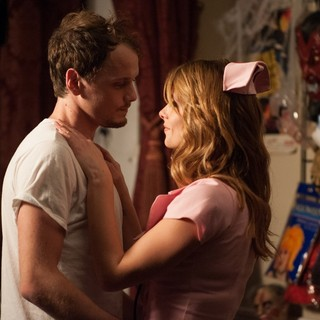 Anton Yelchin stars as Max and Ashley Greene stars as Evelyn in Image Entertainment's Burying the Ex (2015) - burying-the-ex05