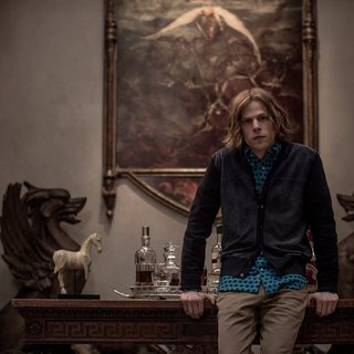 Jesse Eisenberg stars as Lex Luthor in Warner Bros. Pictures' Batman v Superman: Dawn of Justice (2016)