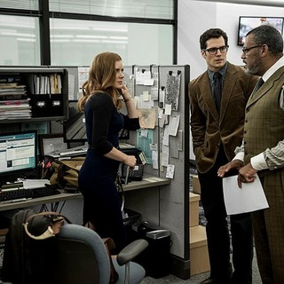 Amy Adams, Henry Cavill and Laurence Fishburne in Warner Bros. Pictures' Batman v Superman: Dawn of Justice (2016) - bvs-dawn-of-justice-img10