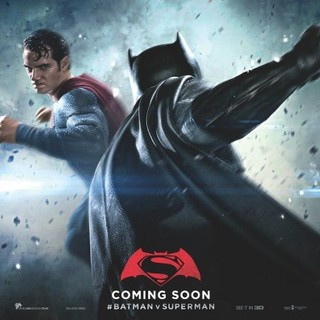 Batman v Superman: Dawn of Justice - Poster of Warner Bros. Pictures' Batman v Superman: Dawn of Justice (2016)