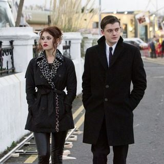 Byzantium - Gemma Arterton stars as Clara Webb and Sam Riley stars as Darvell in IFC Films' Byzantium (2013)