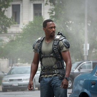 Captain America: The Winter Soldier - Anthony Mackie stars as Sam Wilson/The Falcon in Walt Disney Pictures' Captain America: The Winter Soldier (2014)
