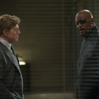 Robert Redford stars as Alexander Pierce and Samuel L. Jackson stars as Nick Fury in Walt Disney Pictures' Captain America: The Winter Soldier (2014) - ca-the-winter-soldier10