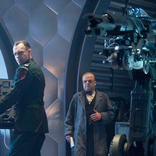 Hugo Weaving stars as Johann Schmidt and Toby Jones stars as Dr. Arnim Zola in Paramount Pictures' Captain America: The First Avenger (2011). Photo credit by: Jay Maidment.