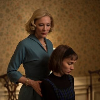 Cate Blanchett stars as Carol Aird and Rooney Mara stars as Therese Belivet in The Weinstein Company's Carol (2015) - carol-image08