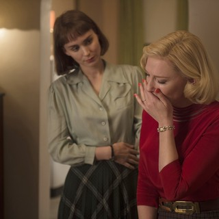 Rooney Mara stars as Therese Belivet and Cate Blanchett stars as Carol Aird in The Weinstein Company's Carol (2015) - carol-picture09