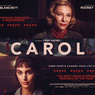 Poster of The Weinstein Company's Carol (2015) - carol-poster03