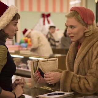 Rooney Mara stars as Therese Belivet and Cate Blanchett stars as Carol Aird in The Weinstein Company's Carol (2015) - carol01