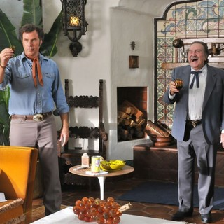 Will Ferrell stars as Armando Alvarez and Pedro Armendariz Jr. stars as Miguel Ernesto Alvarez in Pantelion Films' Casa De Mi Padre (2012). Photo credit by John Estes.