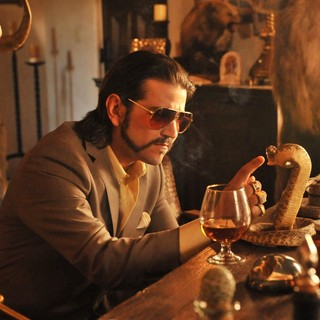 Diego Luna stars as Raul in Pantelion Films' Casa De Mi Padre (2012). Photo credit by John Estes.