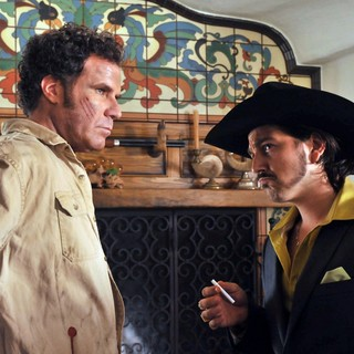 Will Ferrell stars as Armando Alvarez and Diego Luna stars as Raul in Pantelion Films' Casa De Mi Padre (2012)