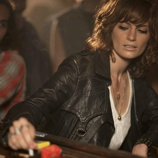 Stana Katic stars as Genya Ravan in XLrator Media's CBGB (2013)