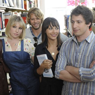 Ari Graynor, Chris D'Elia, Rashida Jones and Andy Samberg in Sony Pictures Classics' Celeste and Jesse Forever (2012)