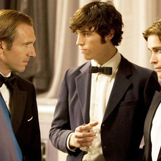 Ralph Fiennes, Tom Hughes and Christian Cooke in Sony Pictures Releasing's Cemetery Junction (2010)