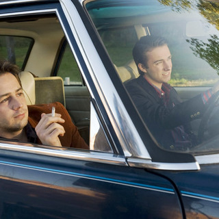 Michael Angarano stars as Sam Davis and Reece Thompson stars as Marshall Schmidt in Magnolia Pictures' Ceremony (2011) - ceremony07