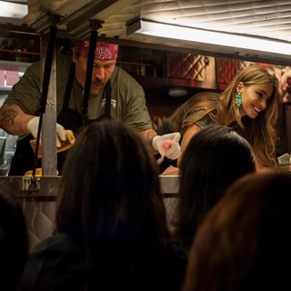 Emjay Anthony, Jon Favreau and Sof�­a Vergara in Open Road Films' Chef (2014)