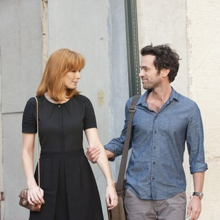 Kelly Reilly stars as Wendy and Romain Duris stars as Xavier Rousseau in Cohen Media Group's Chinese Puzzle (2014)