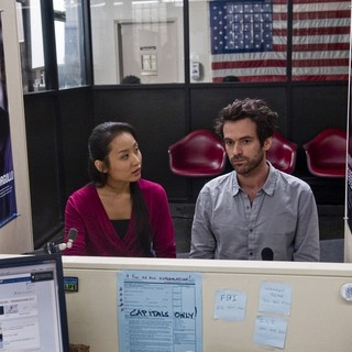 Sandrine Holt stars as Ju and Romain Duris stars as Xavier Rousseau in Cohen Media Group's Chinese Puzzle (2014)