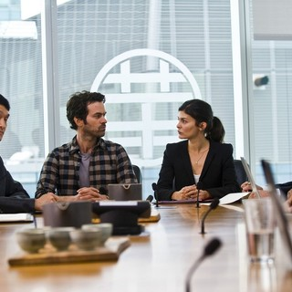 Romain Duris stars as Xavier Rousseau and Audrey Tautou stars as Martine in Cohen Media Group's Chinese Puzzle (2014)
