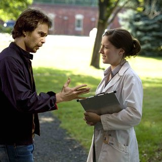 Choke - Sam Rockwell stars as Victor Mancini and Kelly Macdonald stars as Paige Marshall in Fox Searchlight Pictures' Choke (2008). Photo credit by Jessica Miglio.