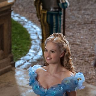 Lily James stars as Cinderella in Walt Disney Pictures' Cinderella (2015) - cinderella-img04