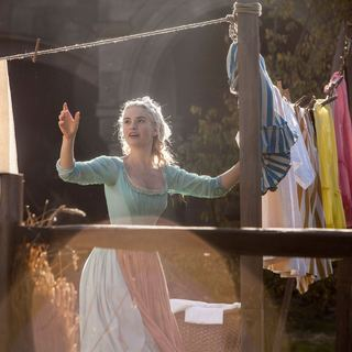 Lily James stars as Cinderella in Walt Disney Pictures' Cinderella (2015) - cinderella-img05