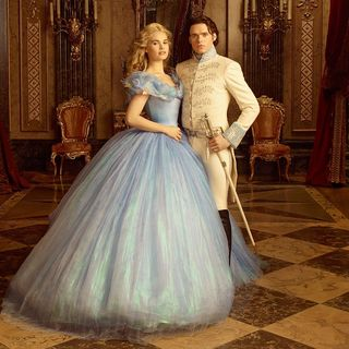 Lily James stars as Cinderella and Richard Madden stars as  Prince Charming in Walt Disney Pictures' Cinderella (2015) - cinderella02