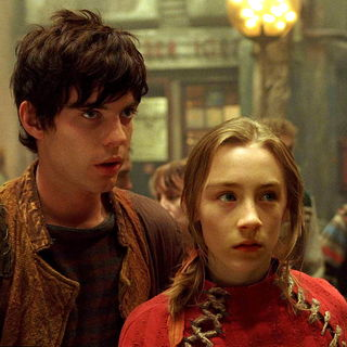 Harry Treadaway stars as Doon Harrow and Saoirse Ronan stars as Lina Mayfleet in Fox-Walden's City of Ember (2008)