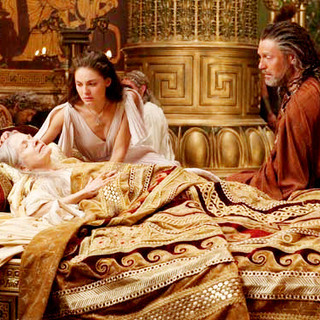 Alexa Davalos stars as Andromeda and Mads Mikkelsen stars as Draco in Warner Bros. Pictures' Clash of the Titans (2010) - clash_of_the_titans63