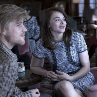 Johnny Flynn stars as Christopher Giles and Chloe Moretz stars as Jo-Ann Ellis in IFC Films' Clouds of Sils Maria (2015)