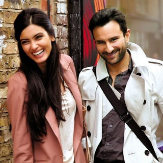 Diana Penty stars as Meera and Saif Ali Khan stars as Gautam in Eros International's Cocktail (2012)