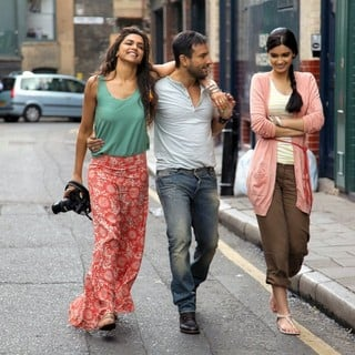 Deepika Padukone, Saif Ali Khan and Diana Penty in Eros International's Cocktail (2012)