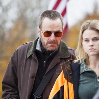 Bryan Cranston stars as Topo and Alice Eve stars as Chloe in Samuel Goldwyn Films' Cold Comes the Night (2014)