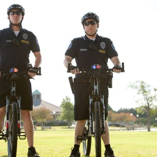 Channing Tatum stars as Jenko and Jonah Hill stars as Schmidt in Columbia Pictures' 21 Jump Street (2012)