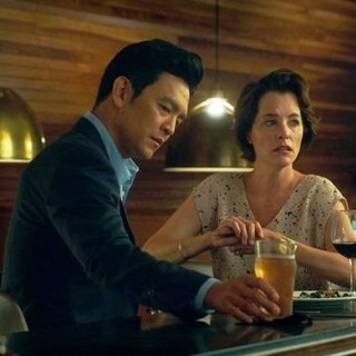 John Cho (Jin) and Parker Posey in Superlative Films' Columbus (2017) - columbus01