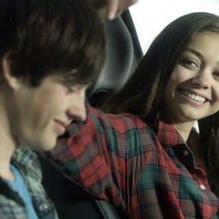 Matt Prokop stars as J.T. and Sarah Hyland stars as Tracey in Tribeca Film's Conception (2012). Photo credit by Noah Rosenthal.