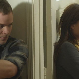 Aaron Ashmore stars as Eric and Leah Pipes stars as Carla in Tribeca Film's Conception (2012). Photo credit by Noah Rosenthal.