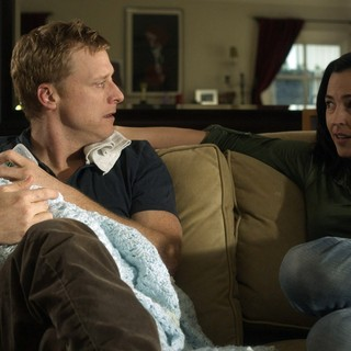 Alan Tudyk stars as Mark and Jennifer Jostyn stars as Gwen in Tribeca Film's Conception (2012). Photo credit by Noah Rosenthal.