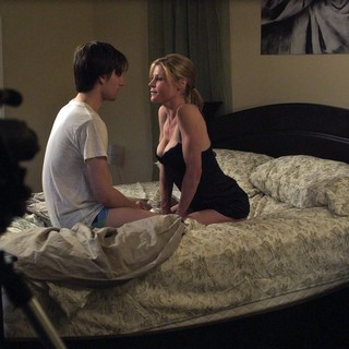 Gregory Smith stars as Will and Julie Bowen stars as Tiffany in Tribeca Film's Conception (2012). Photo credit by Noah Rosenthal.