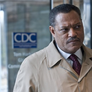Laurence Fishburne stars as Dr. Ellis Cheever in Warner Bros. Pictures' Contagion (2011) - contagion-warner01