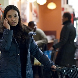 Sanaa Lathan stars as Aubrey Cheever in Warner Bros. Pictures' Contagion (2011) - contagion-warner10