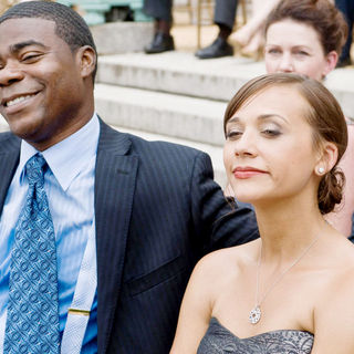 Tracy Morgan and Rashida Jones in Warner Bros. Pictures' Cop Out (2010)