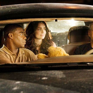 Tracy Morgan, Ana de la Reguera and Bruce Willis in Warner Bros. Pictures' Cop Out (2010)