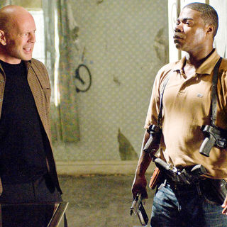 Cop Out - Bruce Willis (Jimmy Monroe) and Tracy Morgan in Warner Bros. Pictures' Cop Out (2010)