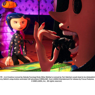 Coraline - A scene from Focus Features' Coraline (2009)