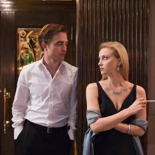 Robert Pattinson stars as Eric Packer and Sarah Gadon stars as Elise Shifrin in Entertainment One's Cosmopolis (2012)